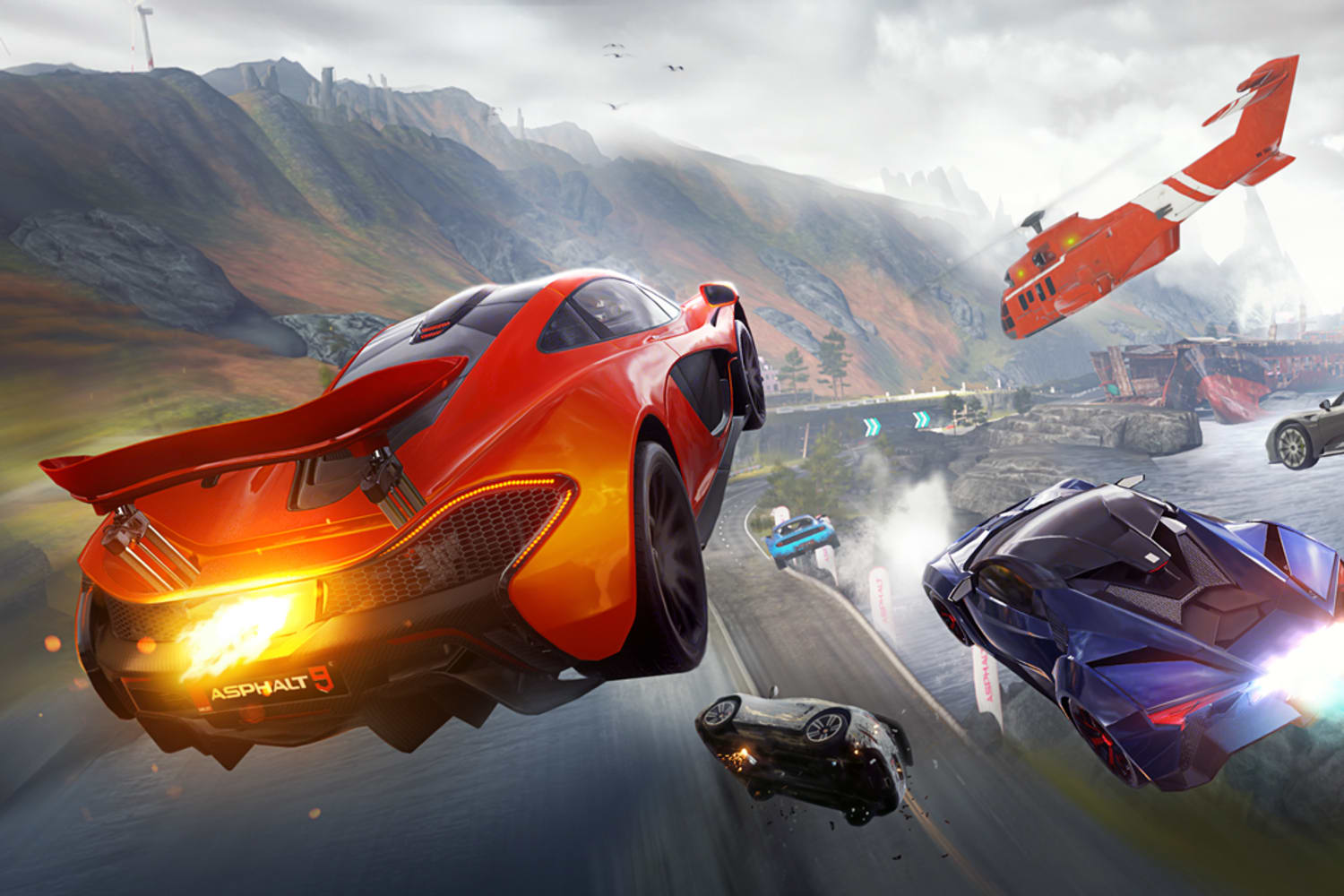 Handheld Racing Games On Ios Mobile Devices Red Bull