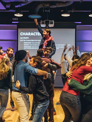 Как студенты всего мира решают проблемы на Red Bull Basement University