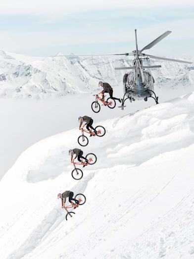 O rowerowej kreatywności słów kilka - Fabio Wibmer