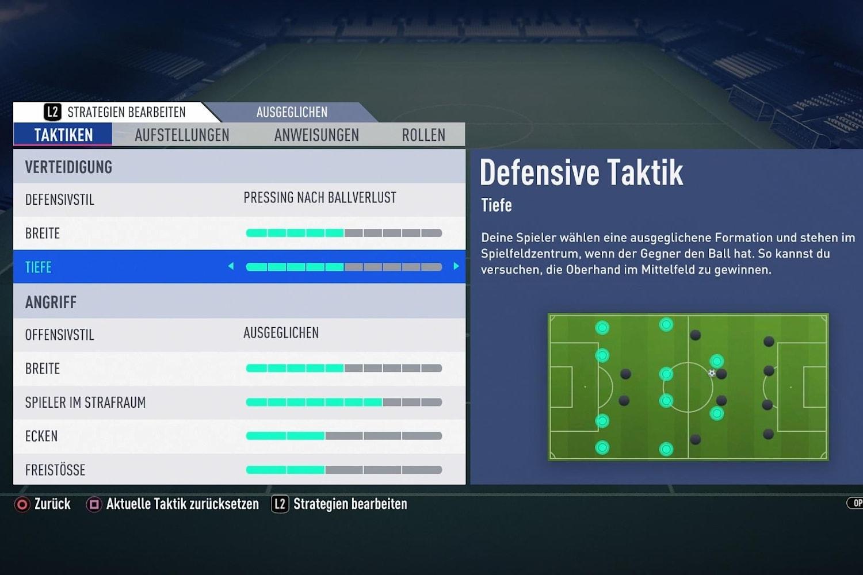 Fifa 19 Taktik
