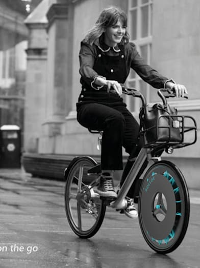 Meet the inventor whose smart bike wheels remove pollution from the air