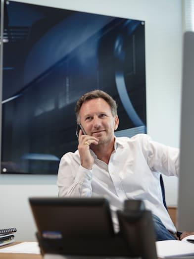Christian Horner habla sobre la tecnología en la F1