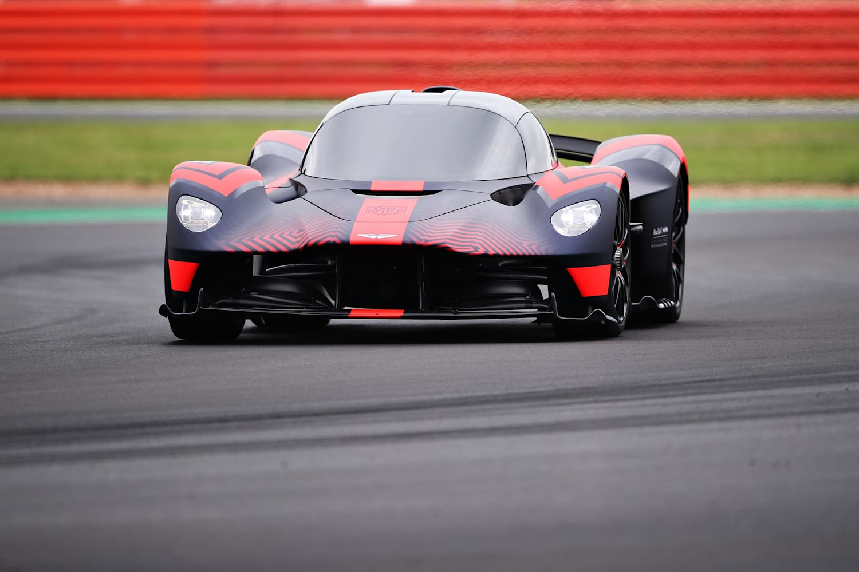 Aston Martin Valkyrie 1 Fahrt In Silverstone Video