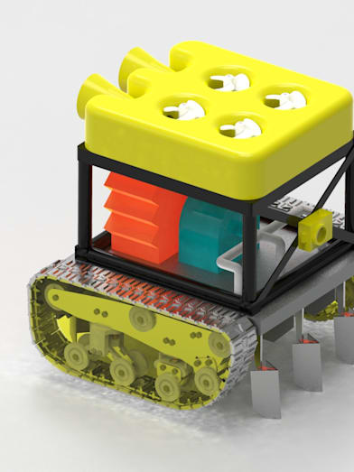 This student-designed robot could help put a stop to global warming