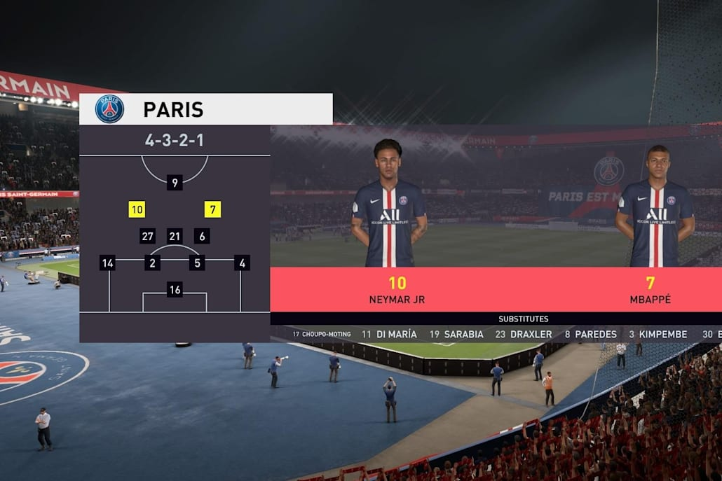 The 4-3-2-1 is more viable in FIFA 20
