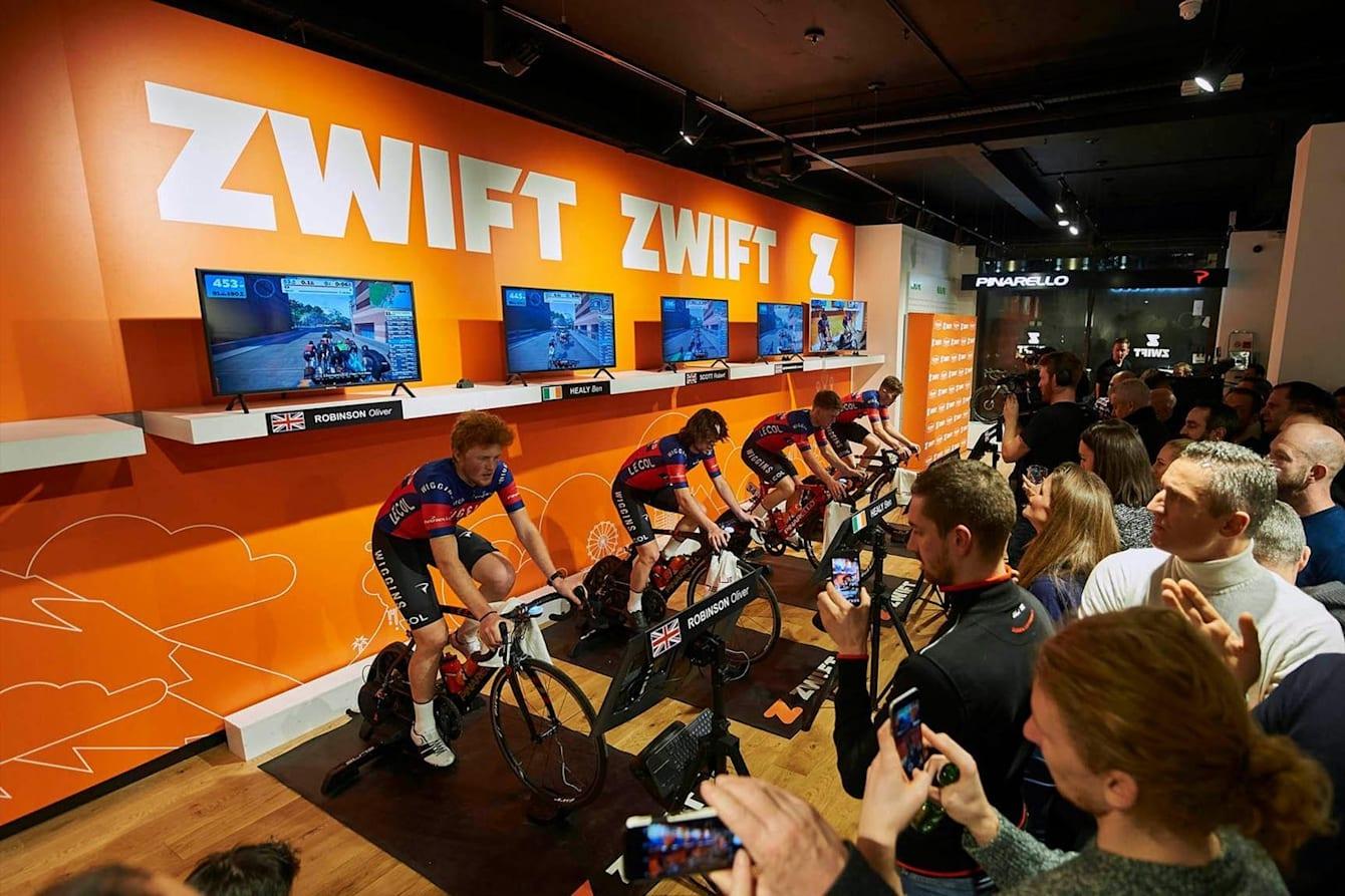 『Zwift』は日本を含む世界各国で導入が進んでいる