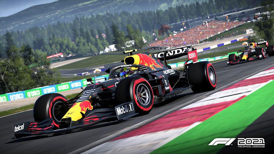 Checo ve Max F1 2021'de