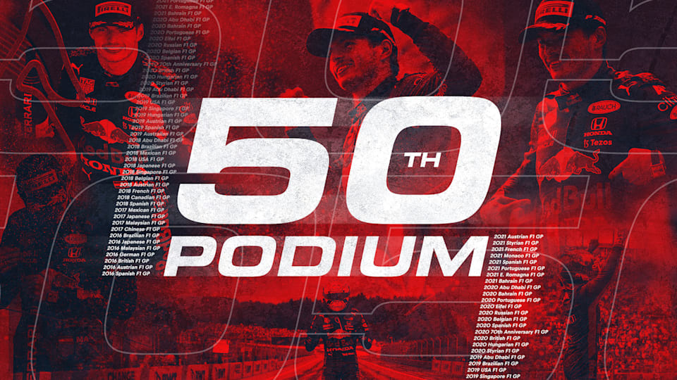 Max Makes It 50 F1 Podiums