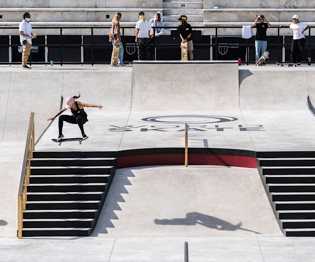 Mundial de Street Skate 2021: Frontside 180 de Leticia Bufoni