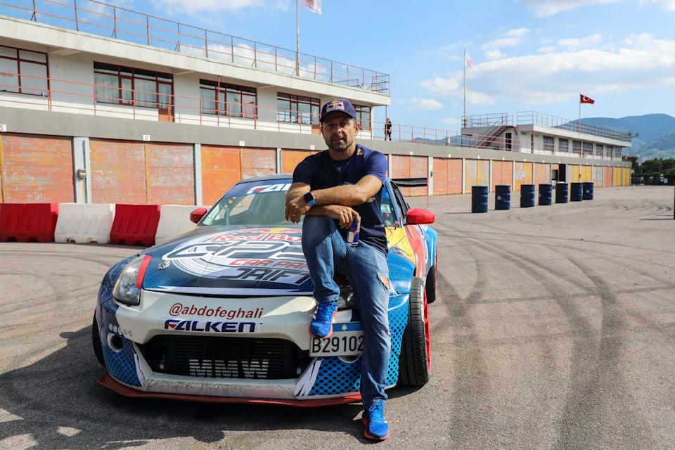 Red Bull Car Park Drift Akademi'de eğitimi Abdo Feghali verdi.