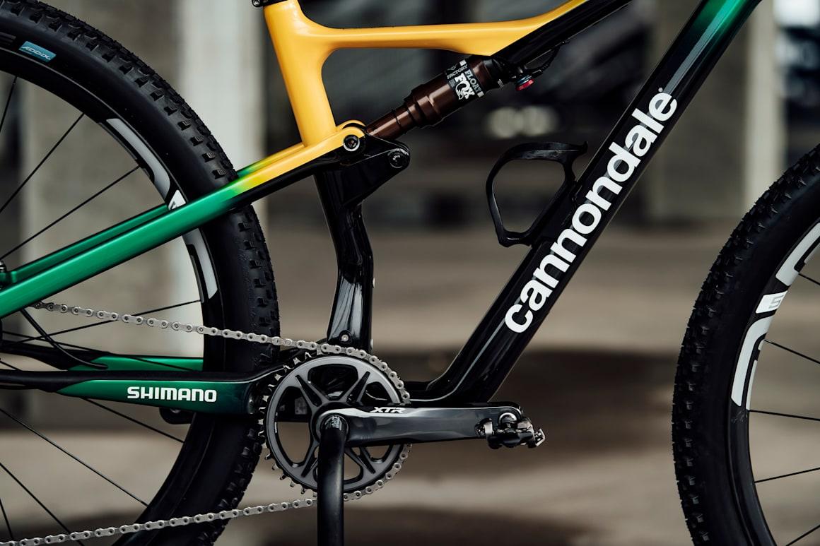 Henrique Avancini'nin bisikleti