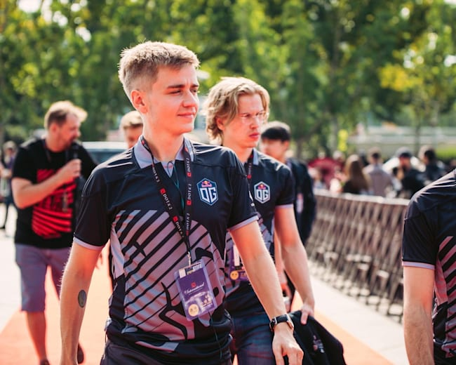 OG are back in the final day of TI for the second year running