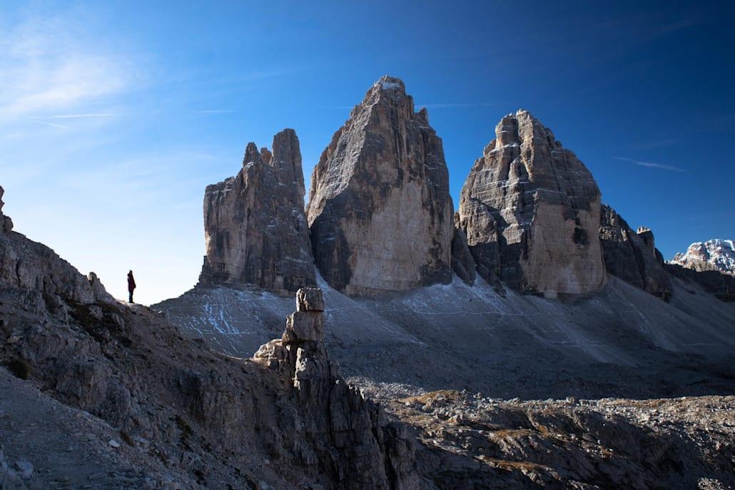 Tre Cime ou les trois cimes en italien