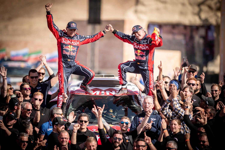 Dakar Rally winner Carlos Sainz talks Saudi success and why he's ready to race for more titles.