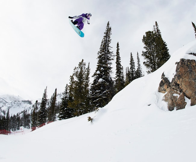 Mark McMorris competes in NST.