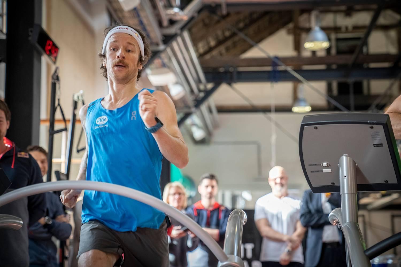 Florian Neuschwander has just smashed the world indoor endurance running record.