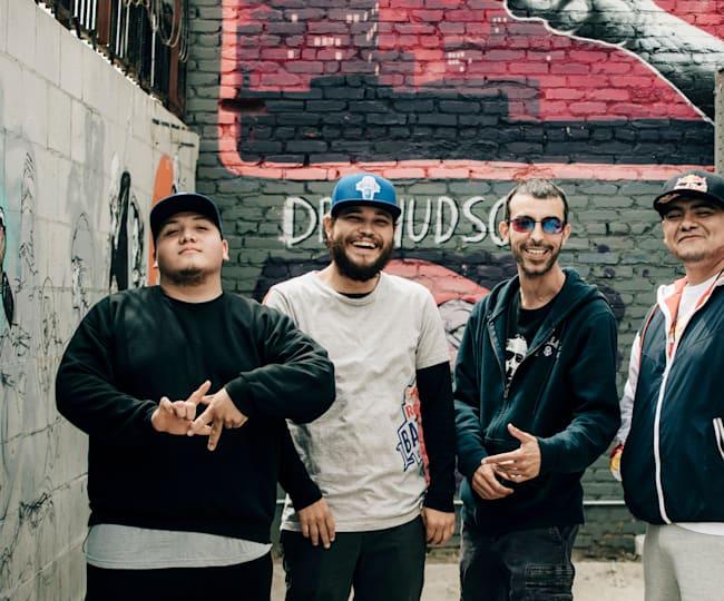 Boss, Poeta, Chester and Aczino in Los Angeles