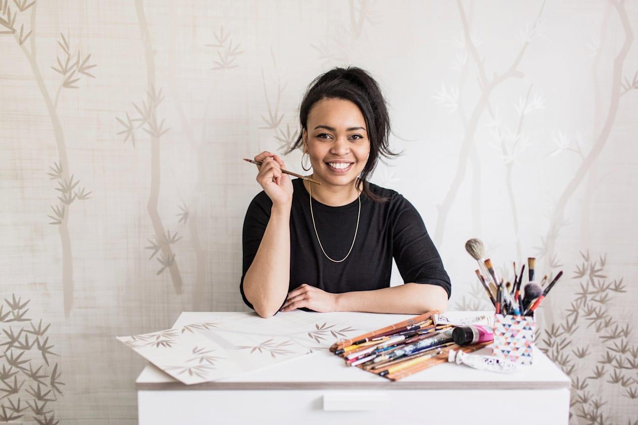 Dekoratif sanatçı ve tasarımcı Diane Hill