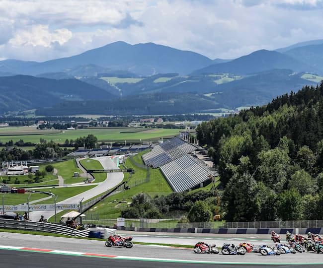 Las montañas de Austria dan la bienvenida a MotoGP