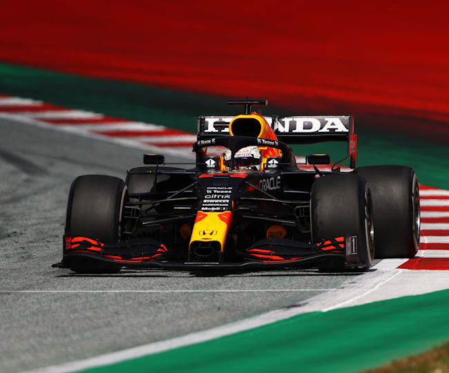 Start to finish domination from Max and Red Bull Racing Honda at home