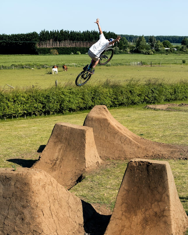 How Matt Jones Created The Perfect Backyard Bike Track