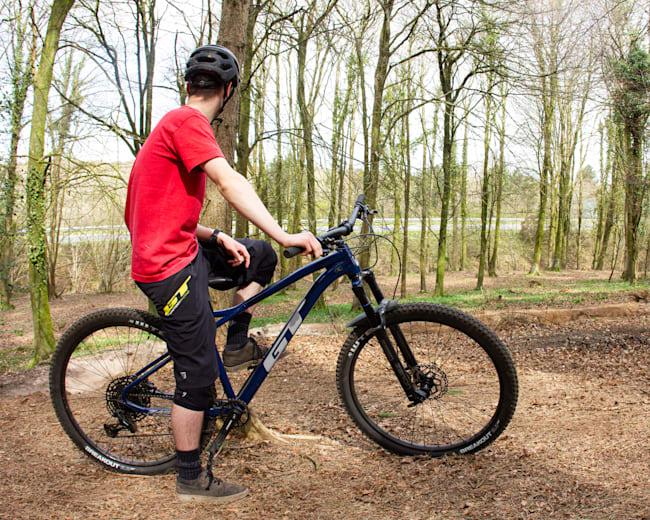 De GT Zaskar hardtail tail mountainbike