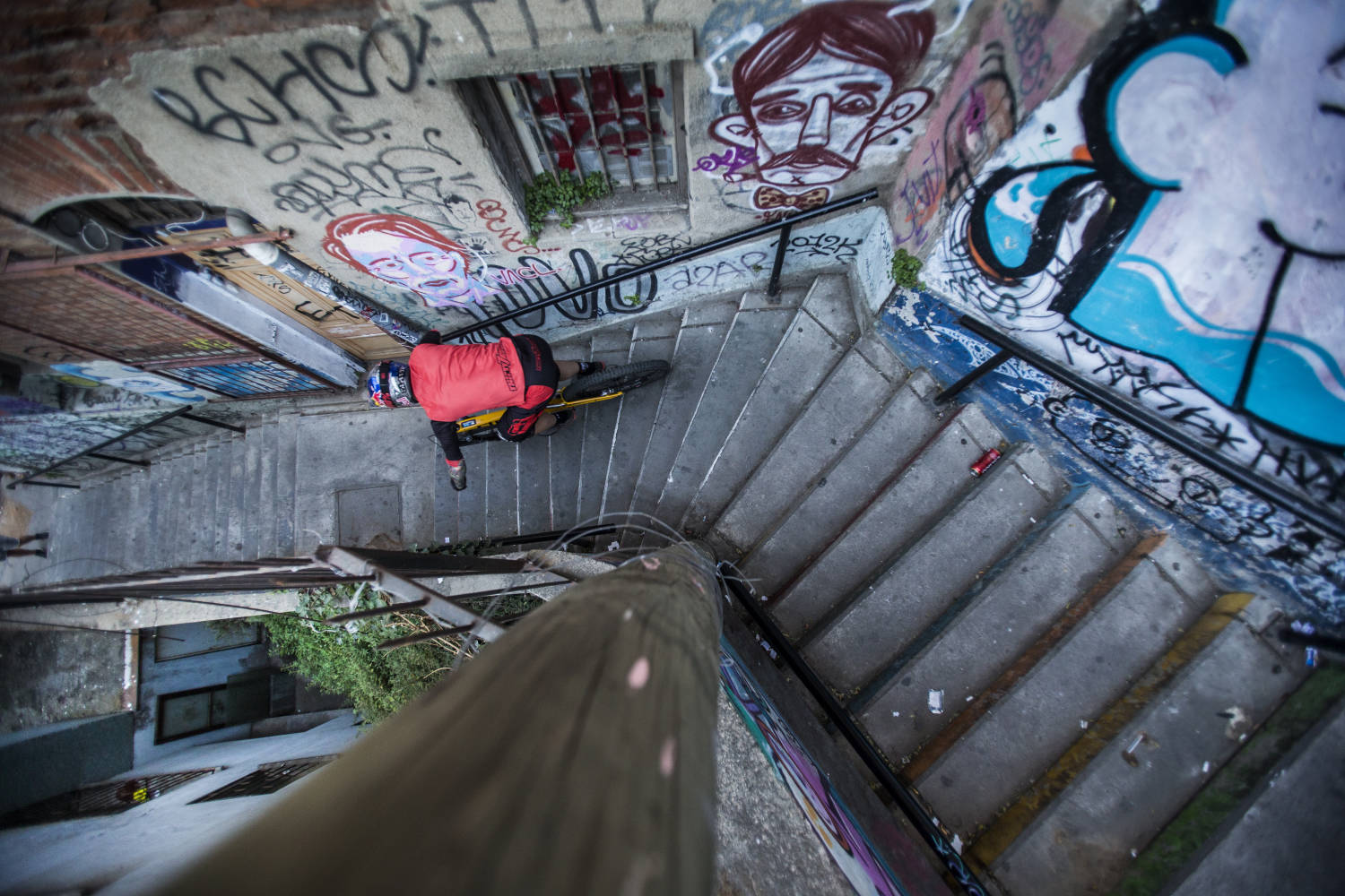 Before Red Bull Monserrate Cerro Abajo, get the lowdown on urban DH racing.