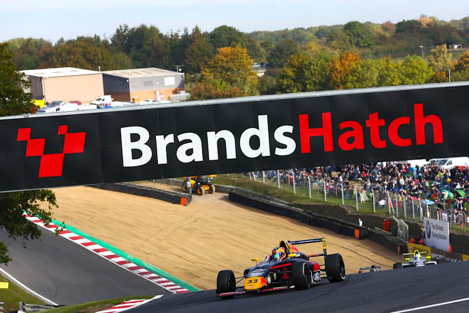 Jack Doohan Drives At Brands Hatch In 2018