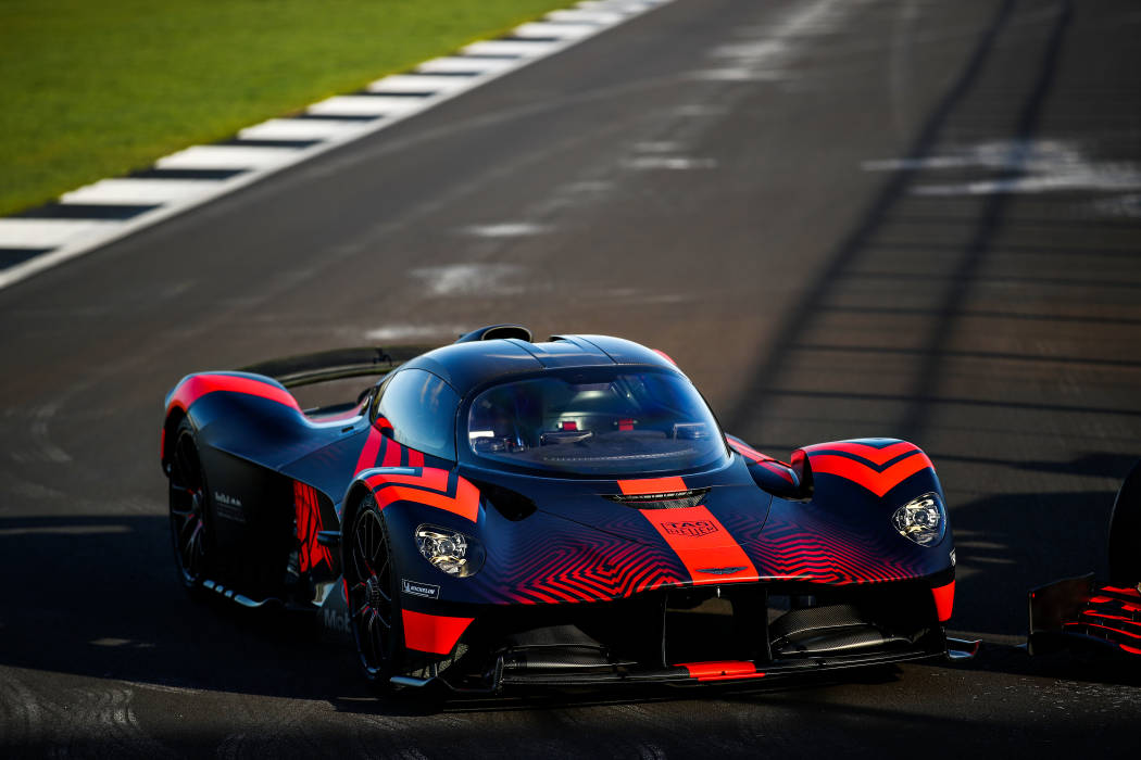 Η Red Bull Racing Aston Martin Valkyrie εν δράσει