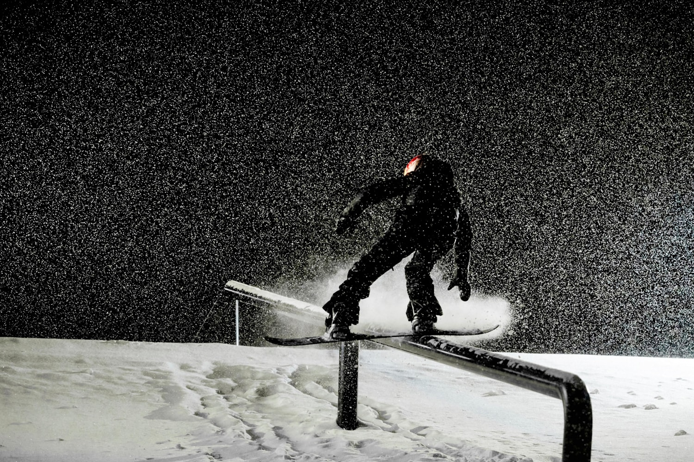 Snowboarding Red Bull