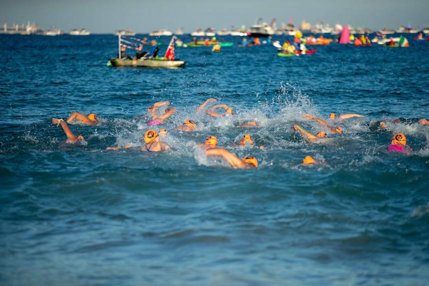 Swimmers Goggles Open Water Pool Lake Ocean Swimming Men Women High Performance