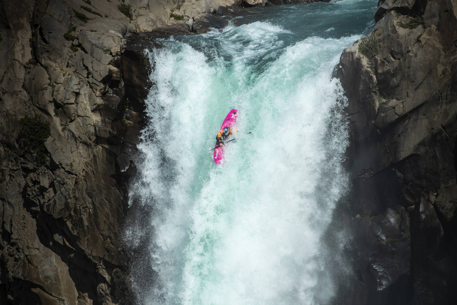 How Dane Jackson conquered the second-highest waterfall descent in history