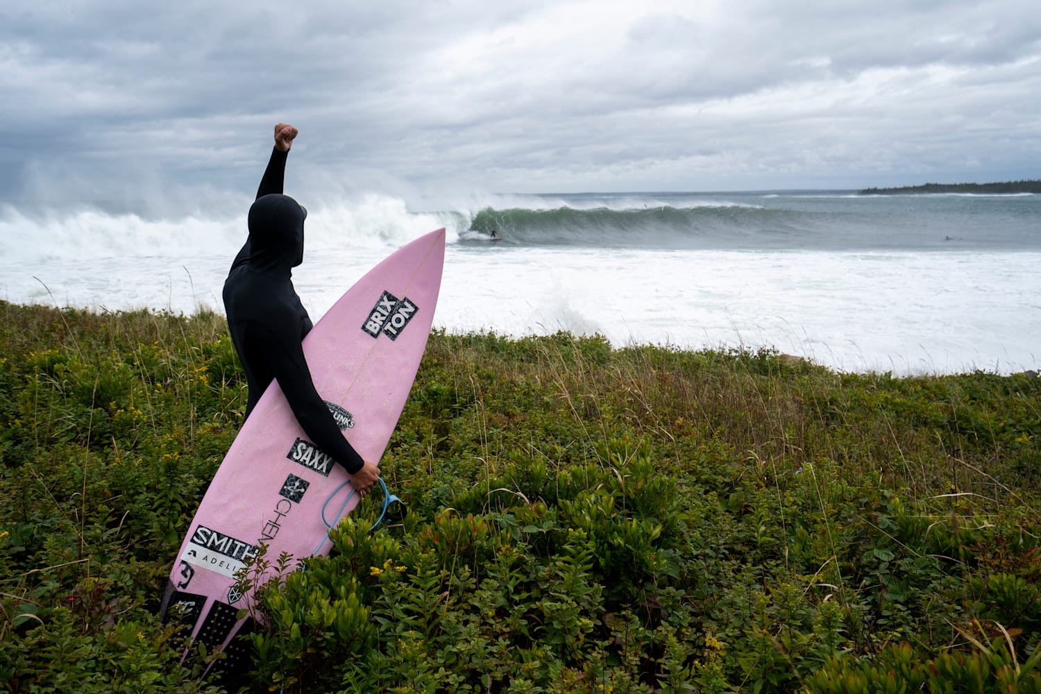 The story of an east coast storm chasing surfer