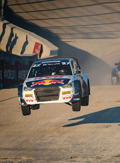 Johan Kristoffersson leaps up the World RX championship race