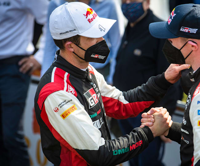 Mutual respect between Ogier and Evans