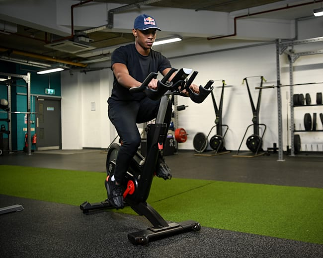 Tracking your cycling fitness isn't limited to a stationary bike