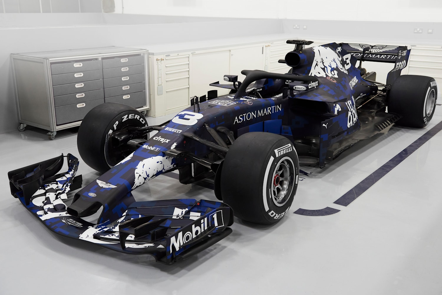 Presentado El Rb14 Aston Martin Red Bull Racing Rb14
