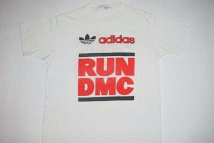 Vintage 80s Adidas Sweatshirt Hip Hop Run DMC Style
