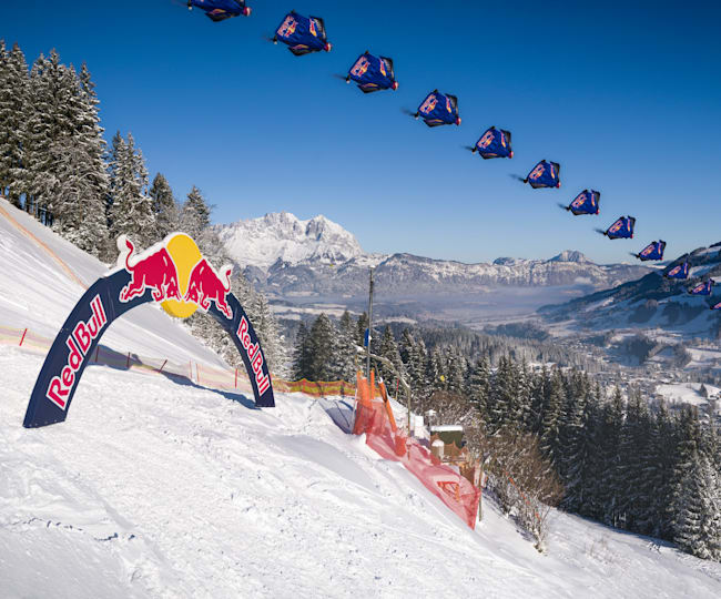 It's certainly a memorable way to preview a ski race