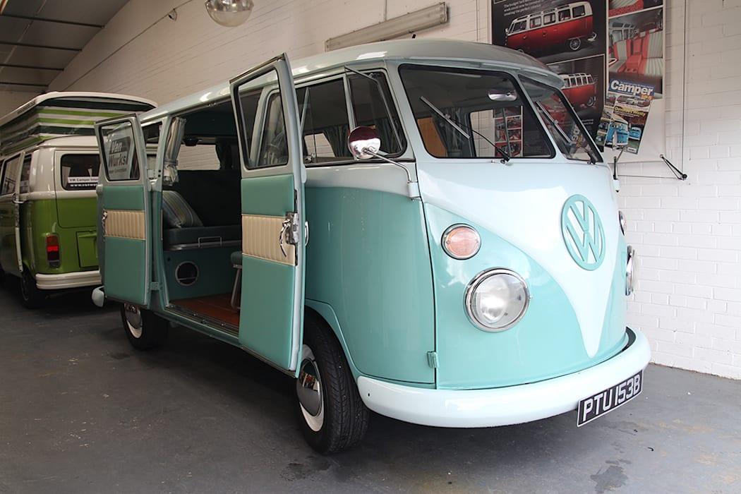 A 1962 Van Wurks Volkswagen Type 2