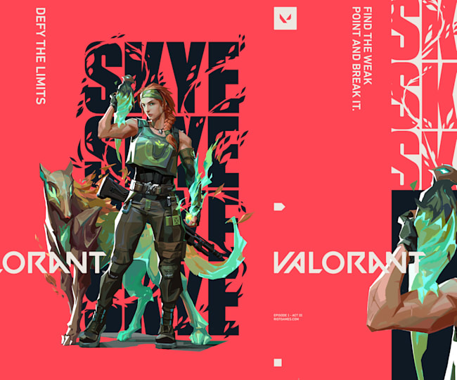 Skye joins the battle in Valorant