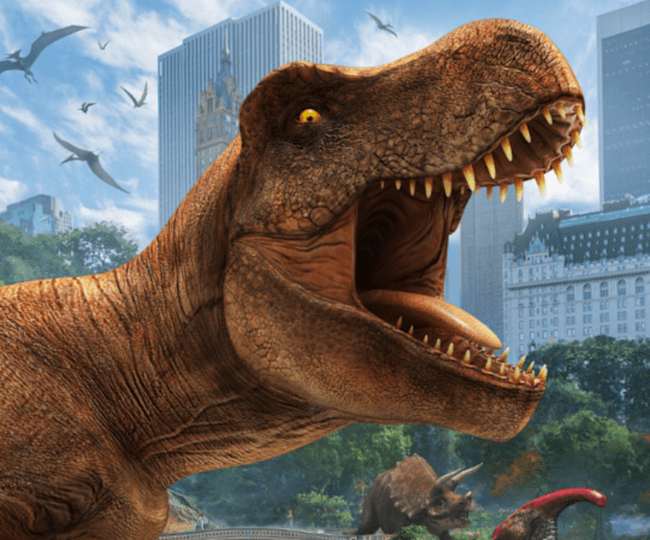 Jurassic World Alive - Artwork