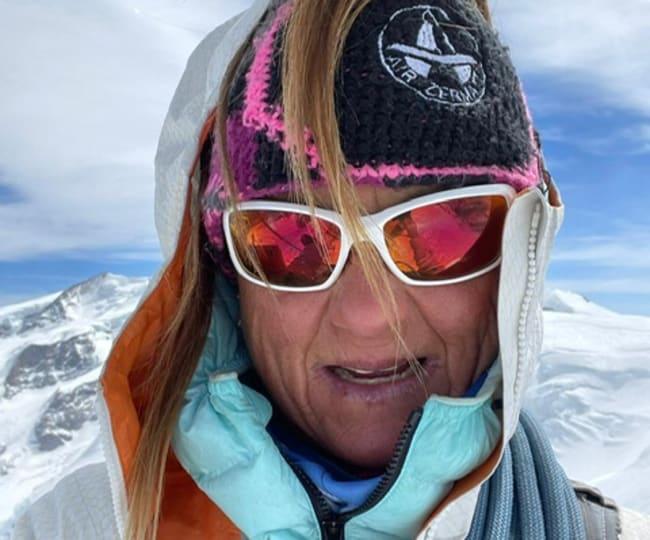 Bergführerin Suzanne Hüsser