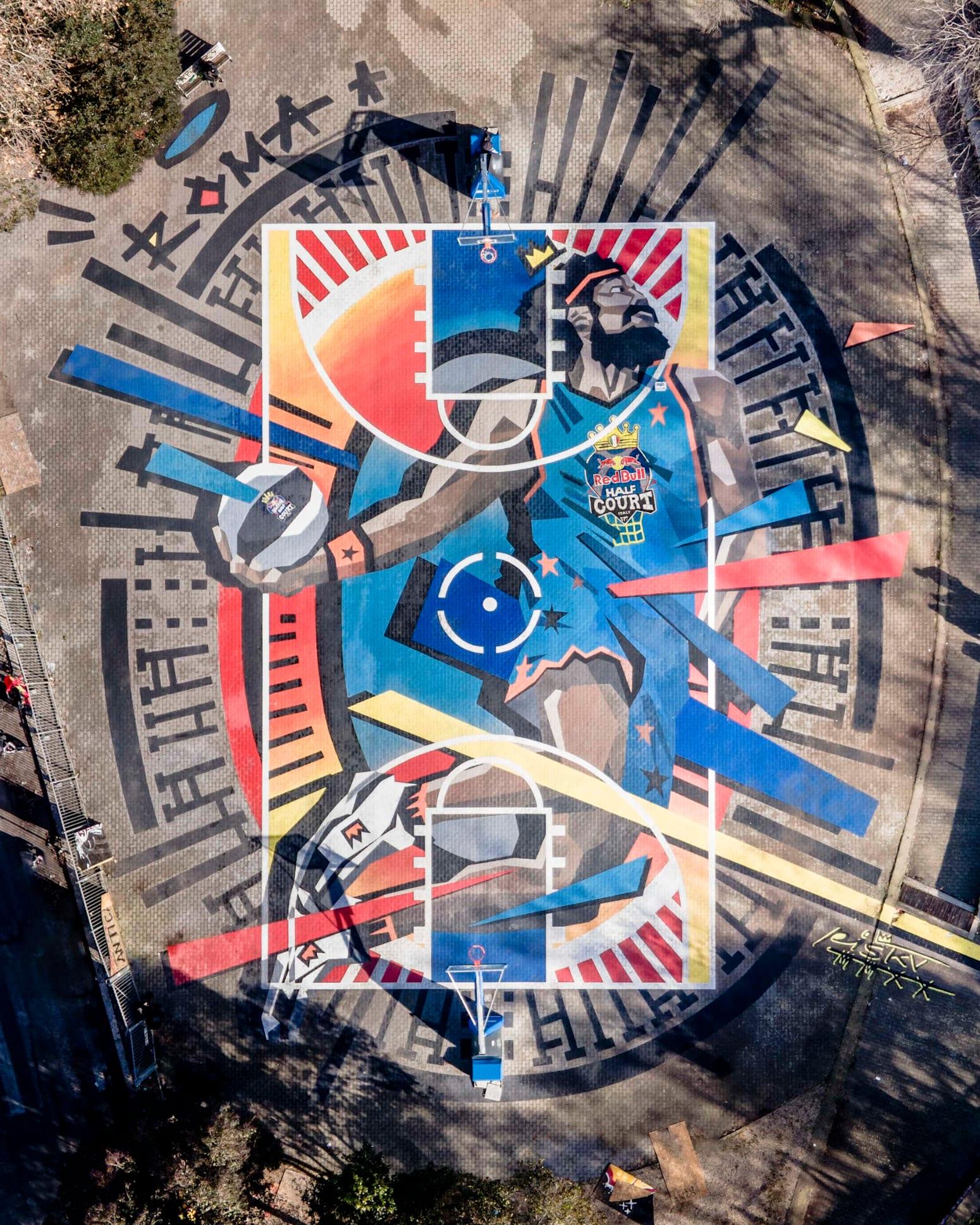 Vista dall'alto - Playground San Lorenzo roma