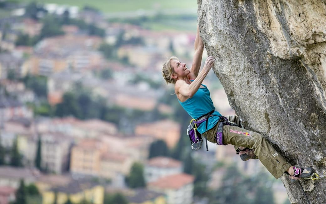 How to start outdoor rock climbing: Angy Eiter's tips
