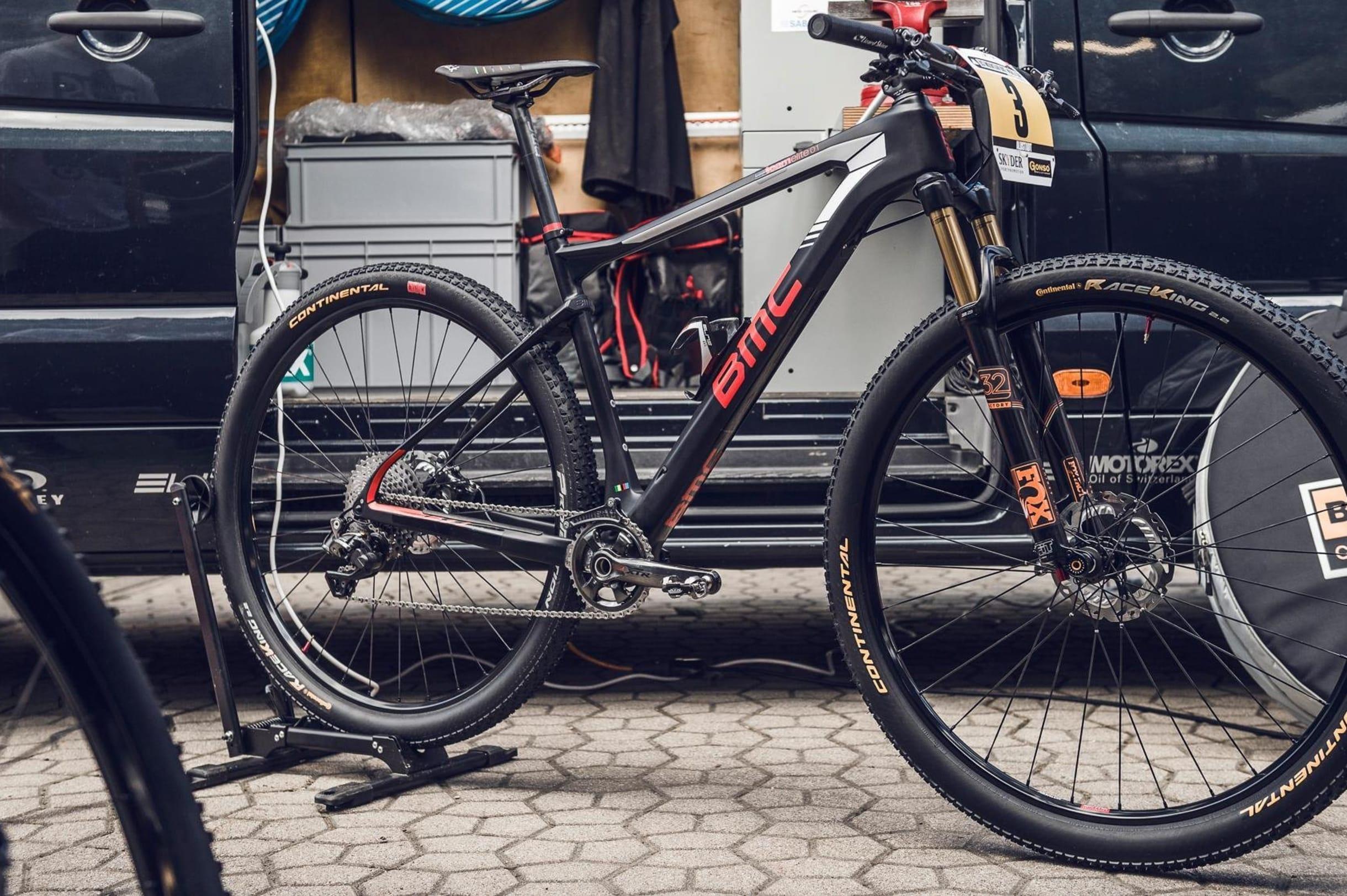 BMC Teamelite 01 XCO de Julien Absalon