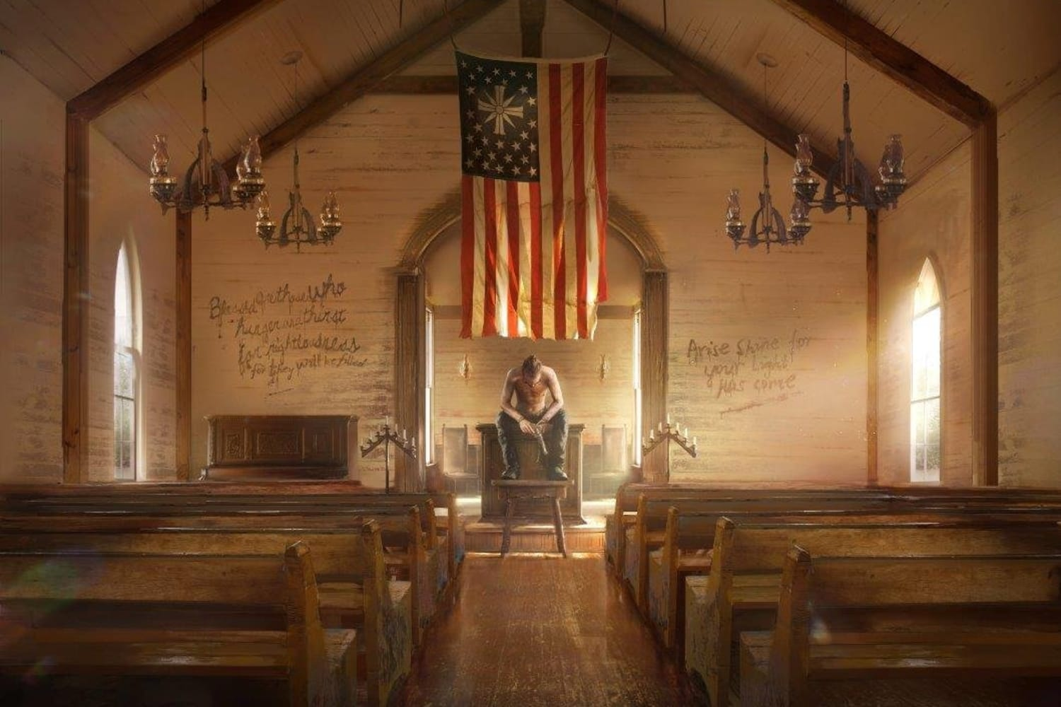Far Cry 5 Making A Realistic Cult Red Bull Games