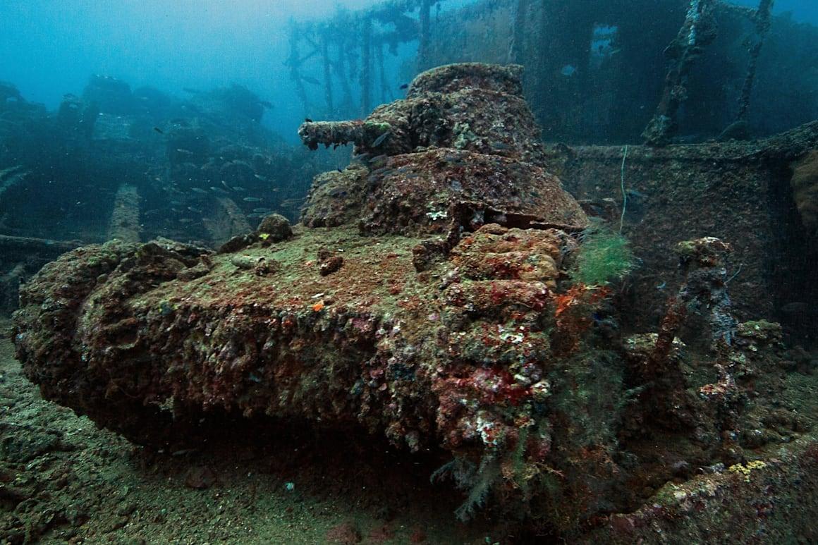 Η τελευταία κατοικία του ιαπωνικού Type-95 tank