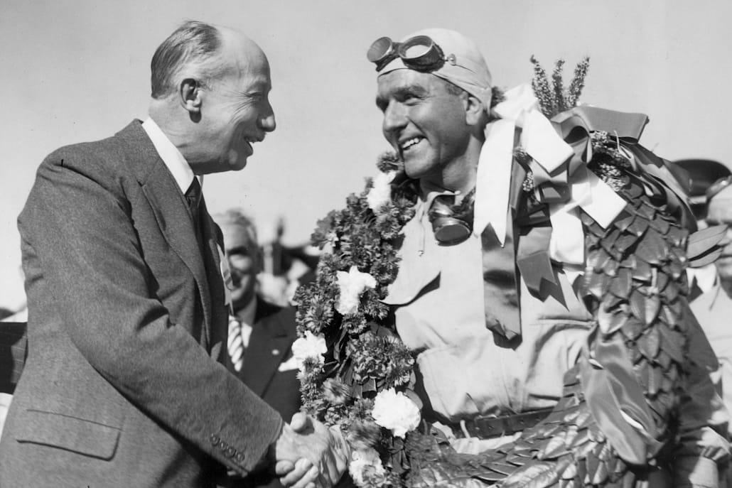 Giuseppe Farina was F1's first world champion