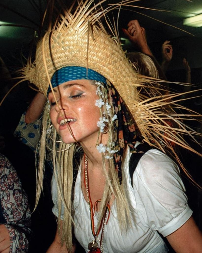 Sacha Souter on the dancefloor at Shoom